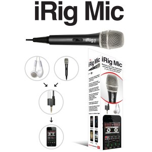 IK MULTIMEDIA iRig Mic Mic-to-iPhone Interface inkl. Software