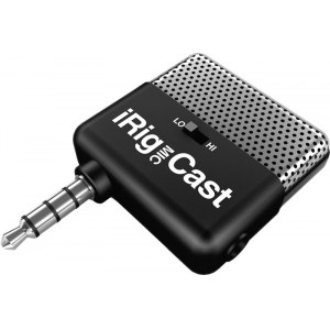 IK MULTIMEDIA iRig Mic Cast Mic-to-iPhone Interface inkl. Software