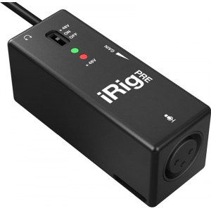 IK MULTIMEDIA iRig Pre Mic-to-iPhone Interface inkl. Software