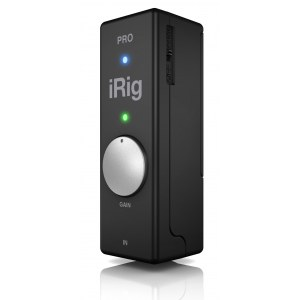 IK MULTIMEDIA iRig Pro Mic-to-iPhone Interface inkl. Software