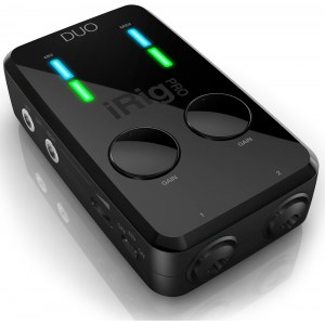 IK MULTIMEDIA iRig Pro Duo Audio/MIDI Interface für iOS, Android and Mac/PC