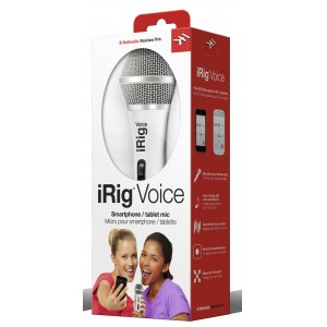 IK MULTIMEDIA iRig Voice WH Mic-to-iPhone Interface, weiss