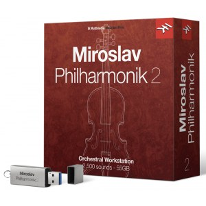 IK MULTIMEDIA Miroslav Philharmonik 2 CRG Orchester PlugIn Crossgrade