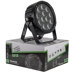 INVOLIGHT SlimPAR1212 PRO LED Scheinwerfer mit 12x 12W 6in1 RGBWA/UV LEDs