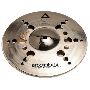 ISTANBUL AGOP Xist Brilliant ION HiHat 10'' Xist Becken, brilliant