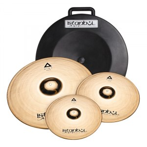 ISTANBUL AGOP Xist Brilliant Cymbal Set 14-16-20 inkl. Hardcase, brilliant