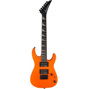 JACKSON JS1X NOR Minion Dinky E-Gitarre, neon orange
