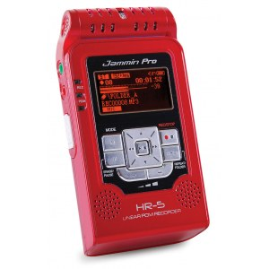 JAMMIN HR-5 RD Handheld Stereo Linear PCM Recorder, rot