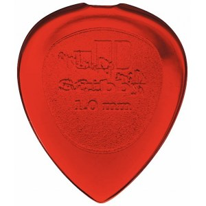JIM DUNLOP 474 Stubby Jazz Player 1,00mm Plektrum, rot (Stück)