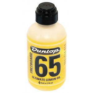 JIM DUNLOP 6554 Ultimate Lemon Oil 65 Instrumenten-Pflegemittel (Griffbrettpflege)