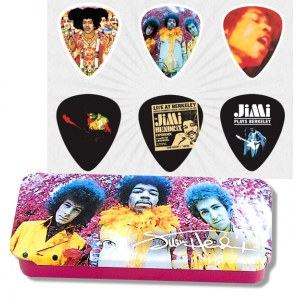 JIM DUNLOP Hendrix Collector Are you Experienced Collector Plektren, medium (6 Stück) - JHPTR01