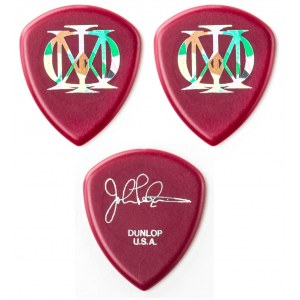 JIM DUNLOP P548RIP John Petrucci Flow Picks Pack 3 Plektum (3 Stück) oxblood, 2.00mm