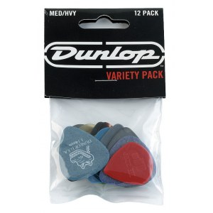 JIM DUNLOP PVP102 Variety Pick Players Pack Plektren (12 Stück) heavy