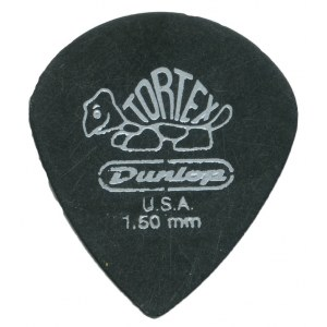 JIM DUNLOP 482P Tortex Pitch Black Jazz III 1,50mm Plektrum (Stück)