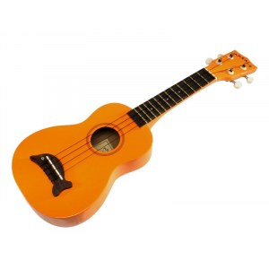 KALA MK SD OR Sopran Dolphin Orange Ukulele, orange