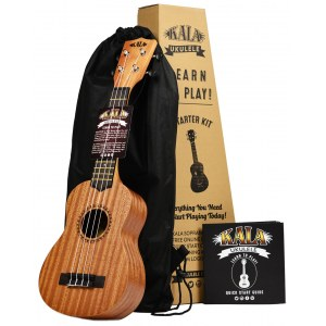 KALA LTP SET Learn To Play Ukulele Starter Paket inkl. Tasche