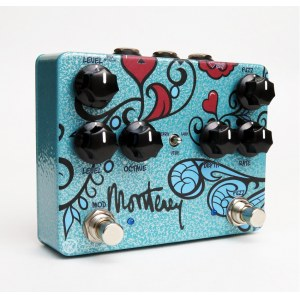KEELEY Monterey Rotary/Fuzz/Vibe/Octave/Wah Multi-Effektpedal