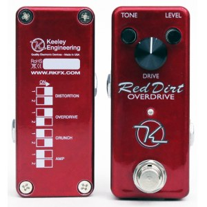 KEELEY Red Dirt Overdrive Mini Effektpedal