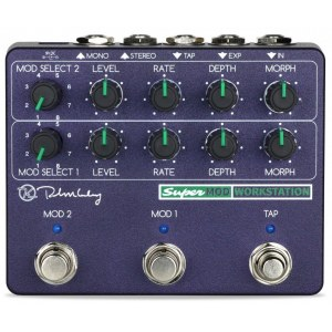KEELEY SuperMod Workstation Multi-Effektpedal