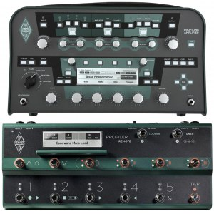 KEMPER Profiler Head Black + Profiler Remote (SET) Gitarren-Multieffekt