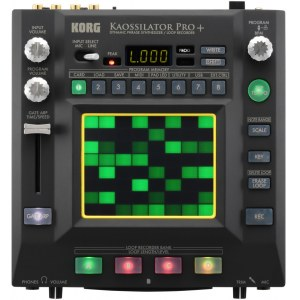 KORG Kaossilator Pro+ Desktop Phrase Synthesizer/Sampler/Looper