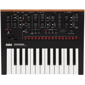 KORG monologue BK Analoger Synthesizer, schwarz