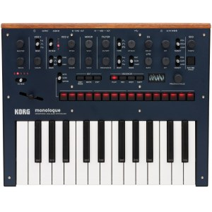 KORG monologue BL Analoger Synthesizer, blau