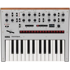 KORG monologue SV Analoger Synthesizer, silber