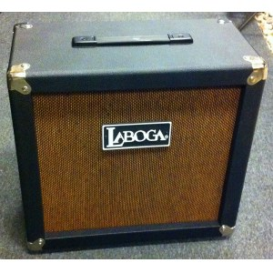 LABOGA The Beast 112 Cab STR 80Watt/12Zoll Gitarrenbox gerade, vintage straw
