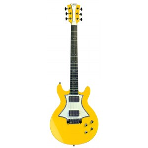 LAG RR1RYE Roxane Racing 1500 E-Gitarre inkl. Gigbag, racing yellow