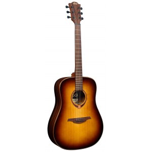 LAG T118DBRS Tramontane 118 Dreadnought Elektro-Akustikgitarre, brown shadow