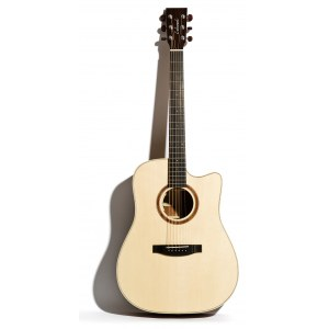 LAKEWOOD D-14 CP Dreadnought Natural Serie Elektro-Akustik-Gitarre inkl. Koffer, natural