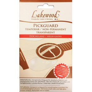 LAKEWOOD Pickguard Transparent High-Gloss Schlagbrett