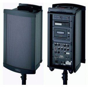 LD-SYSTEMS Roadman 102 CD, 220W Tragbares 220 Watt Batterie Lautsprechersystem.