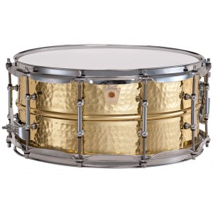 LUDWIG LB422 BKT Hammered Brass 14x6,5 Snaredrum