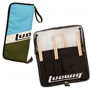 LUDWIG LX31 BO Atlas Stick Bag Stocktasche, blau/olive