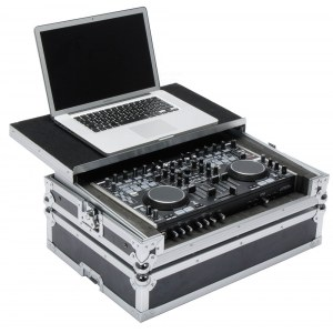 MAGMA DJ-Controller Workstation MC6000 Black/Silve Equipment-Case