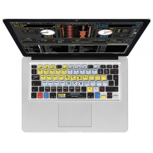 MAGMA Keyboard Cover Serato DJ Macbook 13/15/17 Tastaturschutzauflage (MacBook Qwerty)
