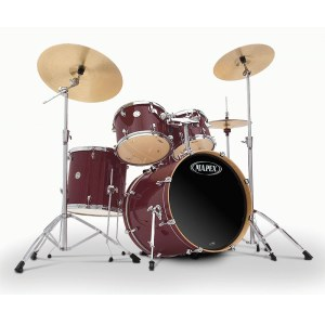 MAPEX HC-5245 BY Horizon C (Folie) / Deal Drumset ohne Becken, burgundy