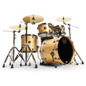 MAPEX SV529BMXN Saturn V MH Exotic Shell Set Kesselsatz ohne Snare und Hardware, natural maple