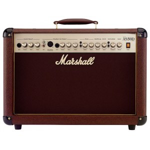 MARSHALL AS50D Combo 50Watt/2x8Zoll Acoustic Soloist Akustikverstärker, brown tolex
