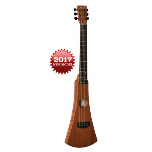 MARTIN Backpacker 25th Anniversary Ltd. Edition Akustik-Gitarre inkl. Gigbag/Gurt, natur matt