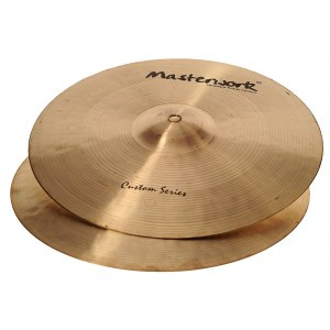 MASTERWORK Custom 14 Rock Hi-Hat Cymbal 14 Zoll Becken, brilliant