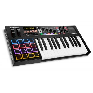 M-AUDIO Code 25 Black USB MIDI-Controller-Keyboard