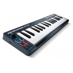 M-AUDIO Keystation Mini 32 MkII USB MIDI-Keyboard Controller inkl. Software