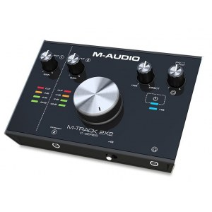 M-AUDIO M-Track 2x2 USB Audio-Interface inkl. Softwarepaket