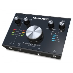 M-AUDIO M-Track 2x2M USB MIDI/Audio-Interface inkl. Softwarepaket