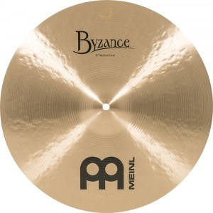 MEINL B16MC Medium Crash Cymbal 16 Zoll Byzance Becken, traditional