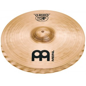 MEINL C14MSW Medium Hi-Hat Cymbal 14 Zoll Classics Soundwave Becken, regular