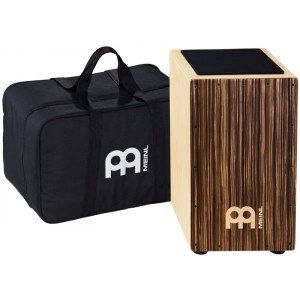 MEINL CAJ3SU-M String + Cajon Bag Cajon, striped umber